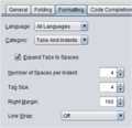Netbeans format all languages p1.png