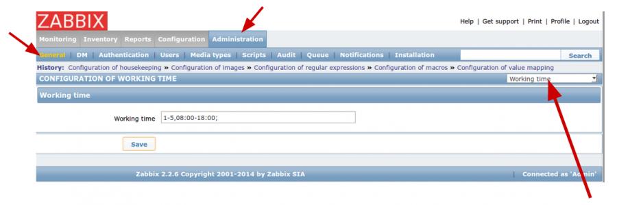 Zabbix server configuration - core setup - Guillaume
