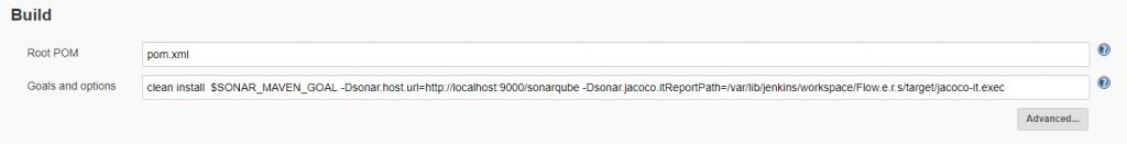 Sonar + maven configuration + Jenkins - Guillaume
